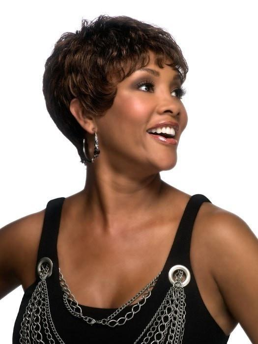 H-222 by Vivica Fox | Short Human Hair Wig | CLOSEOUT