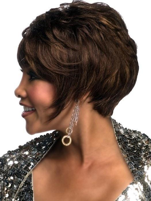 H-311 Human Hair Wig by Vivica Fox in FS4/27