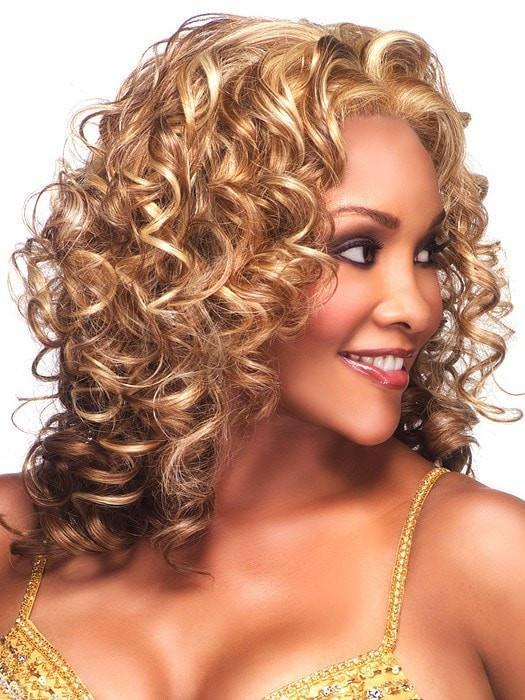 Candi by Vivica Fox | Curly Lace Front Wig