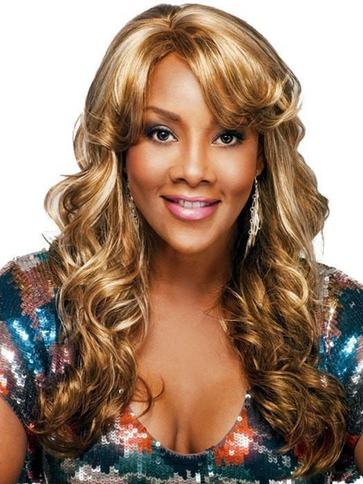 BRAXTON by Vivica Fox in P2216 (Piano Color) | Light Brown, Platinum, Reddish Blonde Mixed