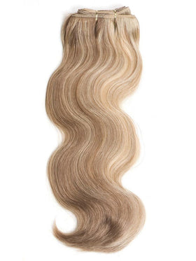 "16"" Virgin Body Human Hair Weave Extensions by Wig Pro 