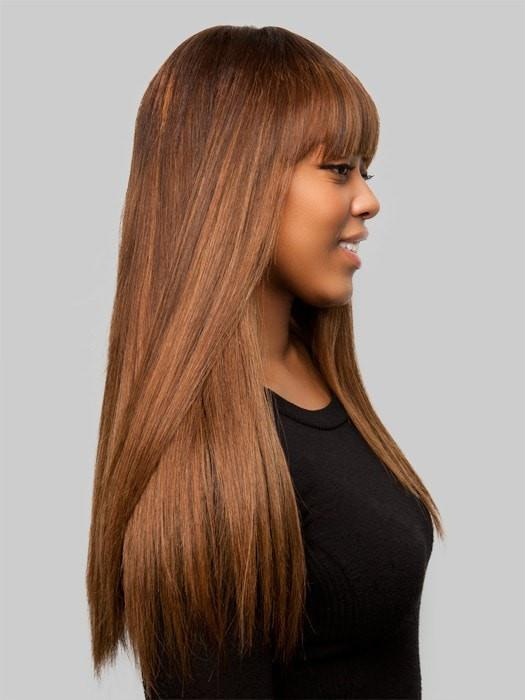 The Optimum Cuticle Remy Hair is truly the most exceptional ever. Unlike other commercial hair, the cuticle has not been removed from the hair, just as nature intended.