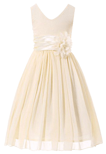 Bow Dream Flower Girl Dress