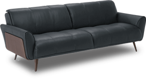 B993 MID-CENTURY STYLE LEATHER SOFA