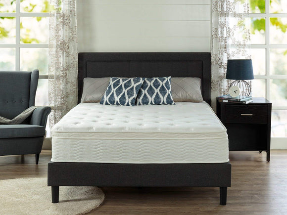 Ultima Comfort 12 Inch Euro Box Top Spring Mattress