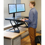 Ergotron WorkFit-T Sit-Stand Desktop Workstation