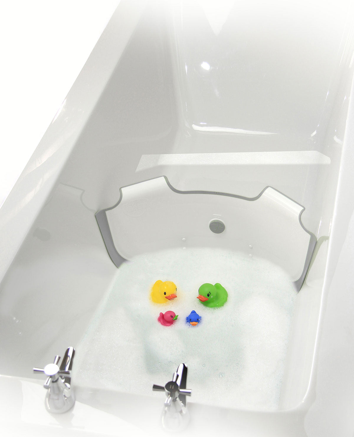 Turn Your Family Tub Into a Baby Bathtub | BabyDam® Bathtub Divider