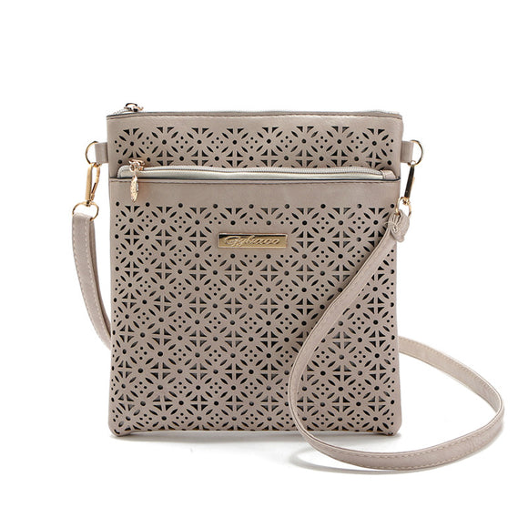 Hollow Out Leather Cross Body Bag 700526-khaki $ 13.99 $ 13.99 $ 13.99 Handbags Accessories Glimmer and Hair  Glimmer and Hair