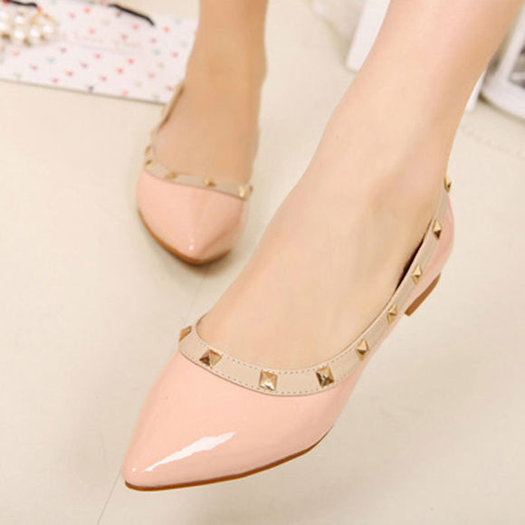 Solid Pointed Toes Flat Shoes 1033540-black-4 $ 23.99 $ 23.99 $ 37.99 Flats Shoes Glimmer and Hair  Glimmer and Hair