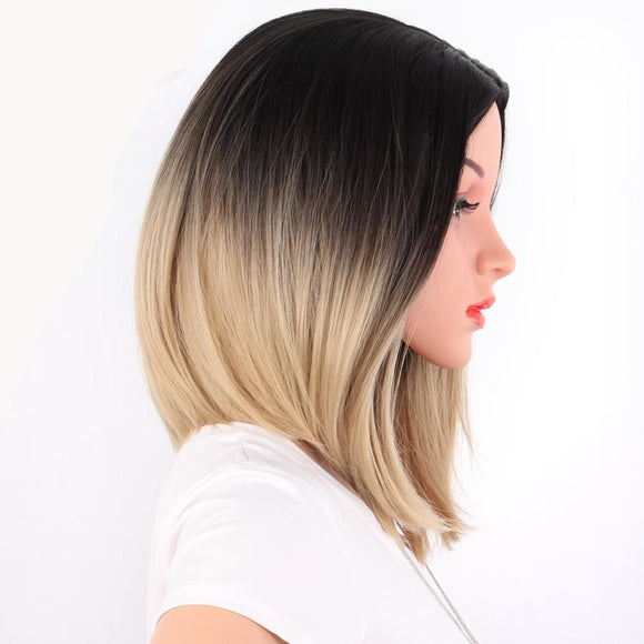 Shoulder Length Bob Ombre Synthetic Hair Wigs 6049159-purple-14inches $ 19.99 $ 19.99 $ 19.99 Synthetic Lace Front Wigs Hair Glimmer and Hair  Glimmer and Hair