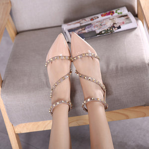 Leather Rivets Flat Shoes 1543636-apricot-6 $ 26.99 $ 26.99 $ 28.99 Flats Shoes Glimmer and Hair  Glimmer and Hair