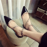 Leather Rivets Flat Shoes 1543636-black-4 $ 26.99 $ 26.99 $ 28.99 Flats Shoes Glimmer and Hair  Glimmer and Hair