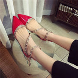 Leather Rivets Flat Shoes 1543636-red-6 $ 26.99 $ 26.99 $ 28.99 Flats Shoes Glimmer and Hair  Glimmer and Hair