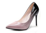 Ombre Faux Leather Heels 6275160-pink-2-3-5 $ 33.99 $ 28.99 $ 33.99 Pumps Shoes Glimmer and Hair  Glimmer and Hair
