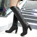 Knight High-heeled Knee Boots 77290-beige-4 $ 36.99 $ 36.99 $ 36.99 Boots Shoes Glimmer and Hair  Glimmer and Hair