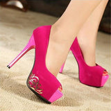 Simple Platform Fish Head High Heel Shoes 8170083-rosy-red-3-5 $ 30.99 $ 27.99 $ 30.99 Pumps Shoes Glimmer and Hair  Glimmer and Hair