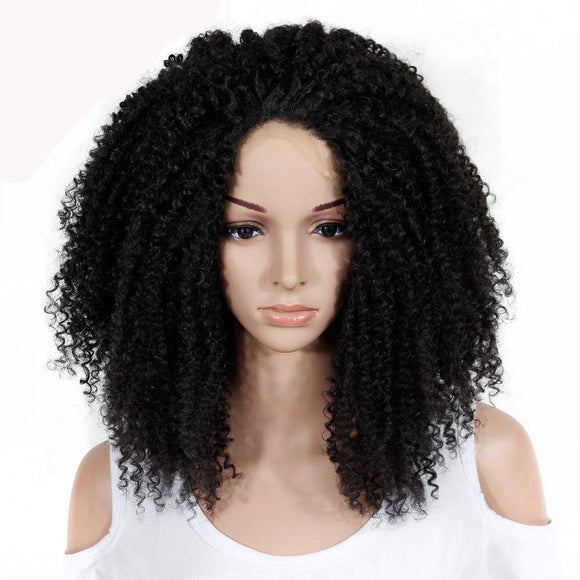 Long Afro Curly Synthetic Lace Front Wigs 9073763-natural-black-24inches $ 58.99 $ 58.99 $ 98.99 Synthetic Lace Front Wigs Hair Glimmer and Hair  Glimmer and Hair