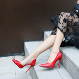 Ombre Faux Leather Heels 6275160-red-17-3-5 $ 28.99 $ 28.99 $ 33.99 Pumps Shoes Glimmer and Hair  Glimmer and Hair