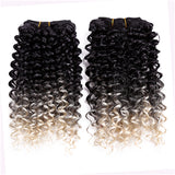 Two Tone Curly Weave Synthetic Hair Extensions 10902154-t1b-613-8inches $ 20.99 $ 14.99 $ 21.99 Synthetic Hair Extensions Hair Glimmer and Hair  Glimmer and Hair