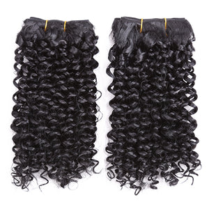 Two Tone Curly Weave Synthetic Hair Extensions 10902154-1b-8inches $ 20.99 $ 14.99 $ 21.99 Synthetic Hair Extensions Hair Glimmer and Hair  Glimmer and Hair