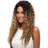 Noble Deep Wave Synthetic Lace Front Wigs