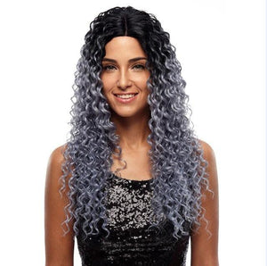 Noble Deep Wave Synthetic Lace Front Wigs 10942835-silver-130-lace-front-26inches $ 45.99 $ 45.99 $ 45.99 Synthetic Lace Front Wigs Hair Glimmer and Hair  Glimmer and Hair