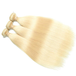 Blonde Straight Malaysian Human Hair Extension