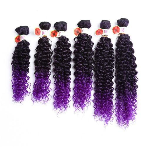 Ombre Color Sew In Synthetic Hair Extensions 12915196-purple-16inches $ 22.99 $ 22.99 $ 22.99 Synthetic Hair Extensions Hair Glimmer and Hair  Glimmer and Hair
