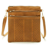 Hollow Out Leather Cross Body Bag 700526-khaki $ 14.99 $ 14.99 $ 14.99 Handbags Accessories Glimmer and Hair  Glimmer and Hair