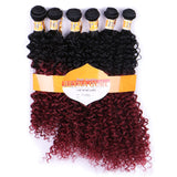 Ombre Curly Synthetic Hair Extensions 13706942-ombre-20inches $ 23.99 $ 23.99 $ 23.99 Synthetic Hair Extensions Hair Glimmer and Hair  Glimmer and Hair