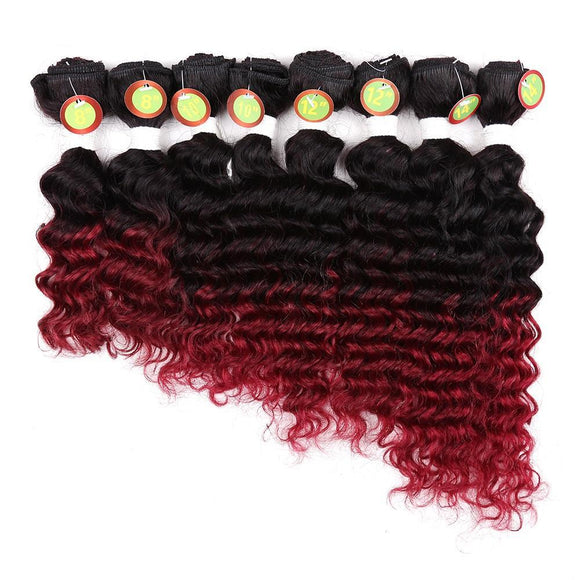 Deep Wavy Synthetic Hair Extension 8481773-1b-14inches $ 24.99 $ 24.99 $ 33.99 Synthetic Hair Extensions Hair Glimmer and Hair  Glimmer and Hair