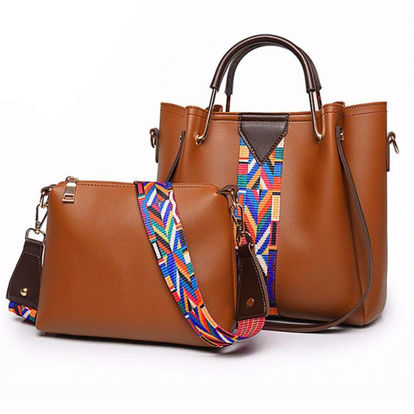 Soft Leather Purse 2Pcs Set
