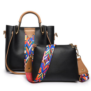 Soft Leather Purse 2Pcs Set 13955807-black $ 30.99 $ 30.99 $ 30.99 Handbags Accessories Glimmer and Hair  Glimmer and Hair