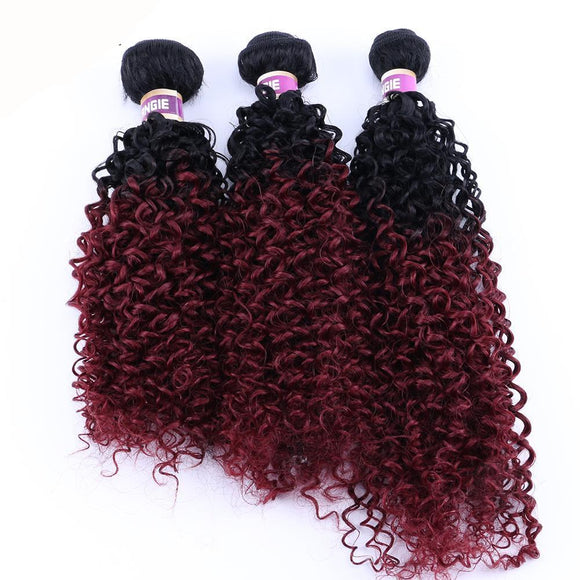 Ombre Color Two Tone Curly Synthetic Hair Extension 13116405-1-20inches $ 12.99 $ 12.99 $ 15.99 Synthetic Hair Extensions Hair Glimmer and Hair  Glimmer and Hair