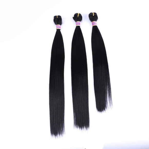 Black Straight Synthetic Hair Extension 14263584-1-18inches $ 11.99 $ 11.99 $ 11.99 Synthetic Hair Extensions Hair Glimmer and Hair  Glimmer and Hair