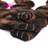 Ombre Body Wave Synthetic Hair Extensions