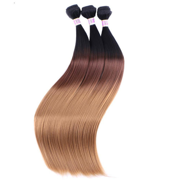 Three Tone Straight Synthetic Hair Extensions 14273736-t1b-4-27-16inches $ 11.99 $ 11.99 $ 12.99 Synthetic Hair Extensions Hair Glimmer and Hair  Glimmer and Hair