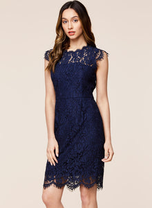 Retro Lace Cocktail Dress