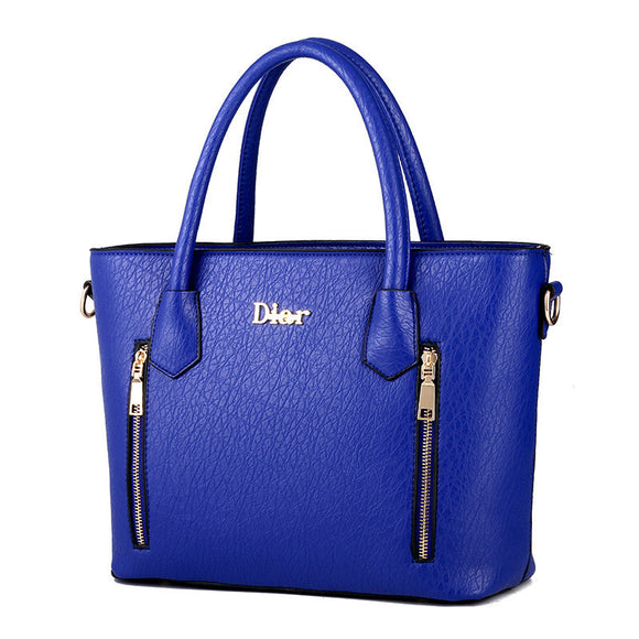 Luxury tote Leather Handbag - Sapphire 771710-sapphire $ 59.99 $ 59.99 $ 59.99 Handbags Accessories Glimmer and Hair $ 93.99 $ 93.99 $ 93.99 Glimmer and Hair