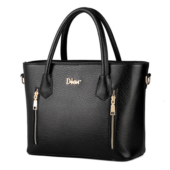 Luxury tote Leather Handbag - Black 771710-black $ 59.99 $ 59.99 $ 59.99 Handbags Accessories Glimmer and Hair $ 93.99 $ 93.99 $ 93.99 Glimmer and Hair