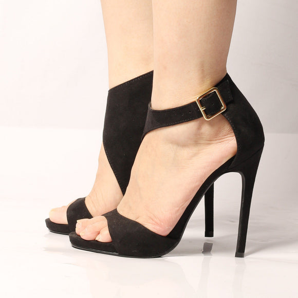 Ankle Strap Open Toes High Heel Shoes 435597-black-5-5 $ 55.99 $ 55.99 $ 59.99 Pumps Shoes Glimmer and Hair  Glimmer and Hair