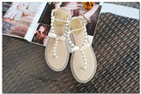 Pearl Diamond Flat Sandals 435527-pink-6 $ 38.99 $ 22.99 $ 38.99 Sandals Shoes Glimmer and Hair  Glimmer and Hair