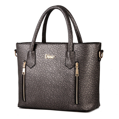 Luxury tote Leather Handbag - Dark gray 771710-dark-gray $ 59.99 $ 59.99 $ 59.99 Handbags Accessories Glimmer and Hair $ 93.99 $ 93.99 $ 93.99 Glimmer and Hair