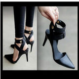 Pointed Toes Gladiator High Heel Shoes