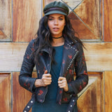 Hearts On Fire Moto Jacket