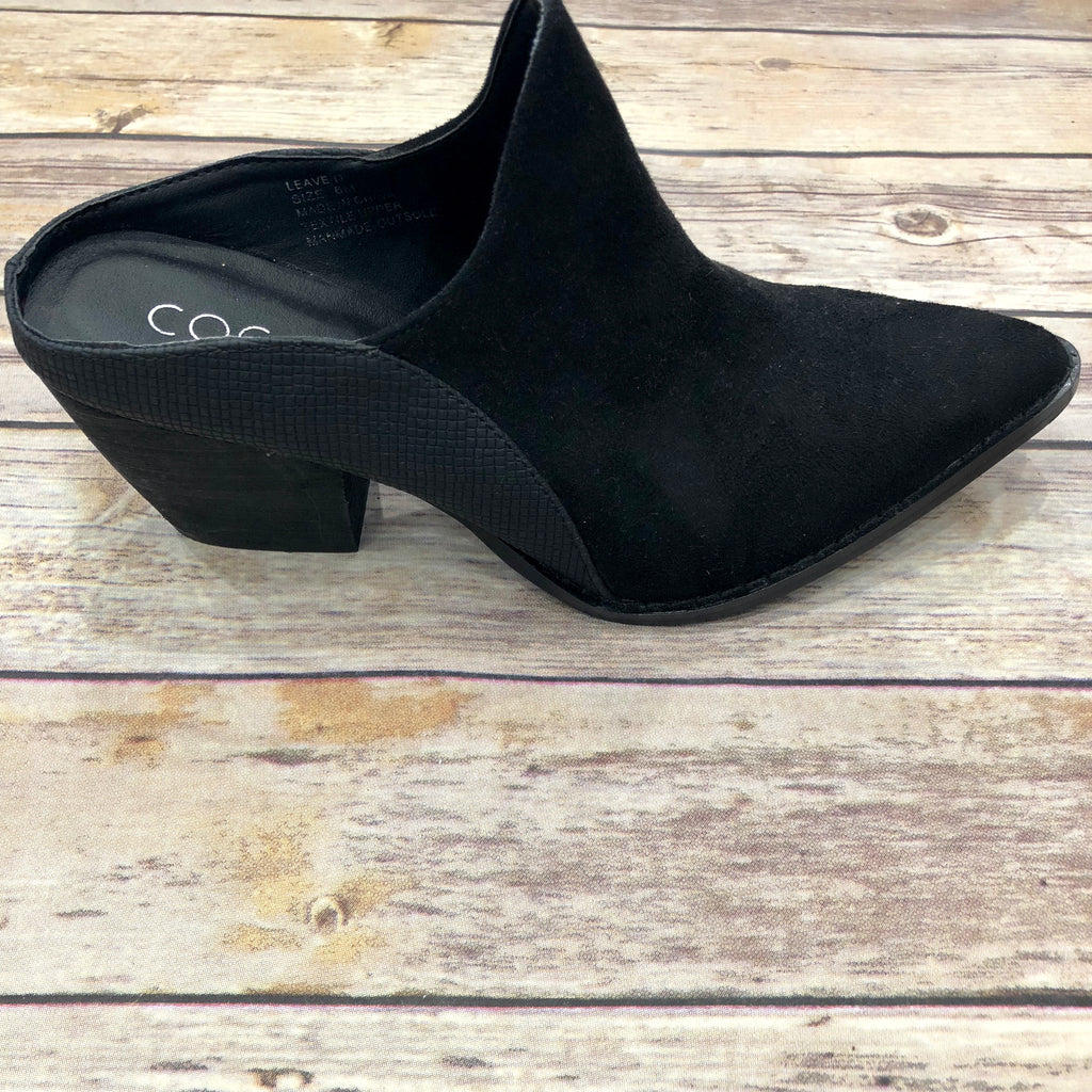 Leave It Black Mule Shoe
