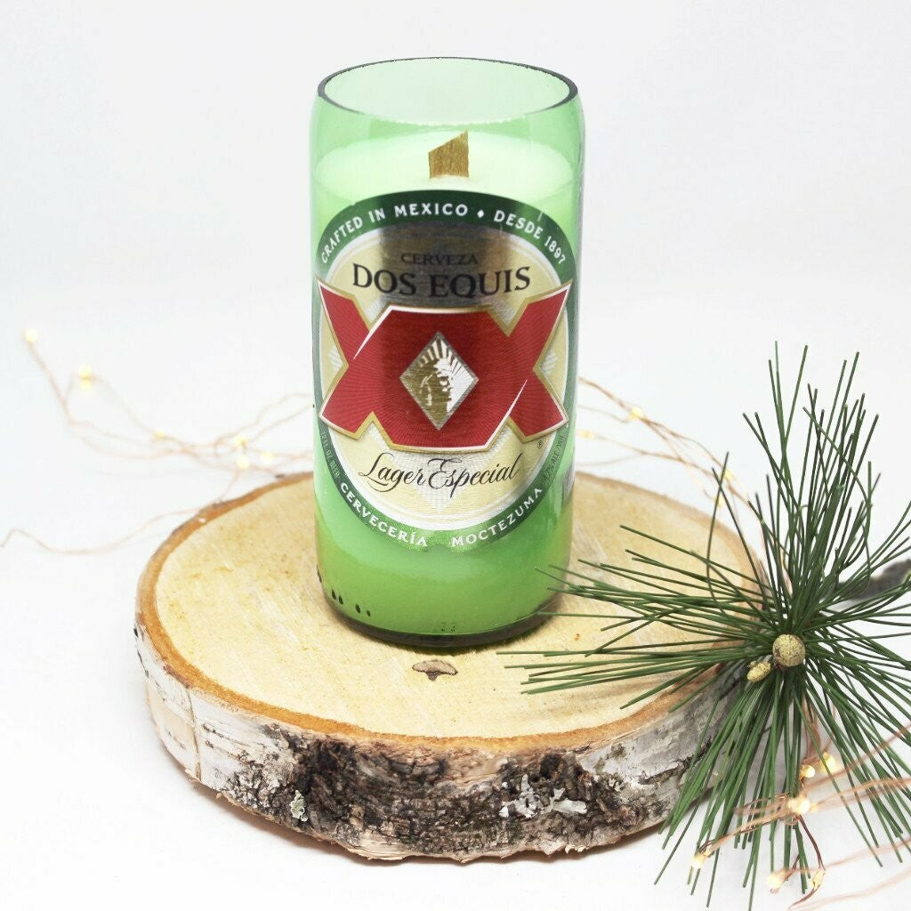Leather & Lace Beer Candle