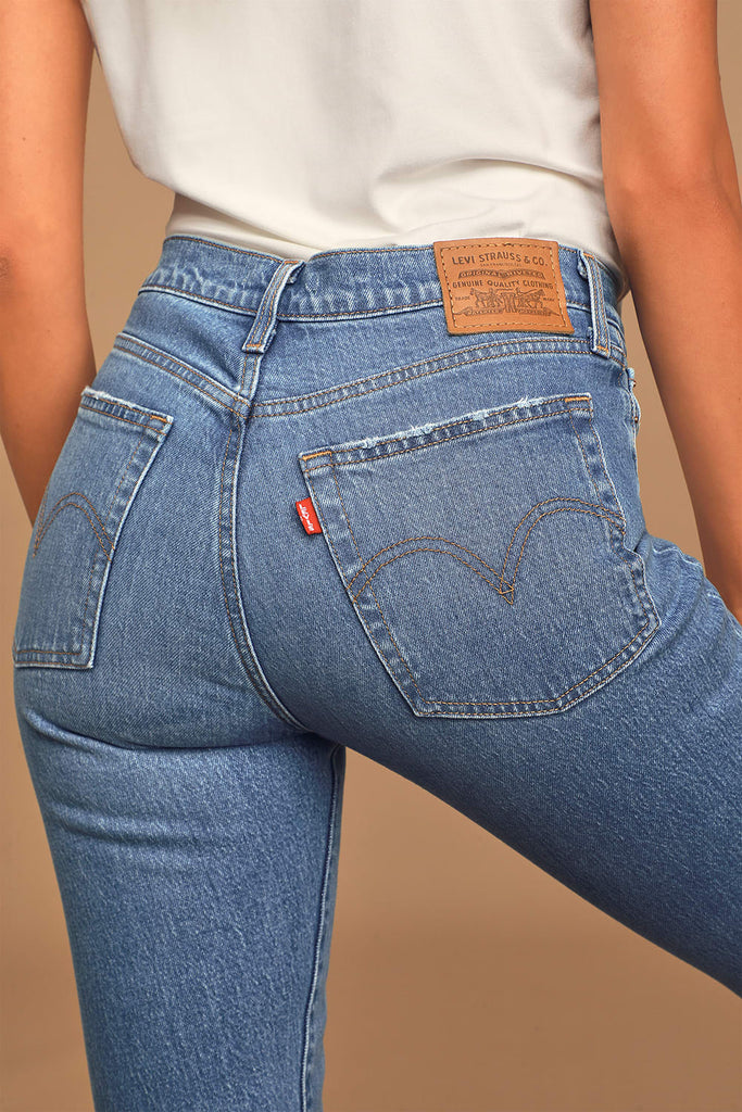 Levi's Wedgie Jive Taps Jeans