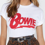 Red Bowie Tee