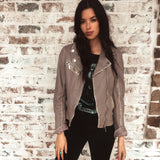 Perfecto Grey Moto Jacket